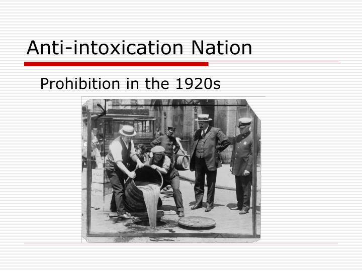 anti intoxication nation n.