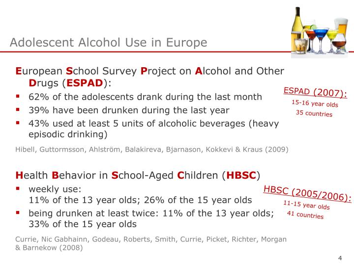 an analysis of the alcohol consumption by adolescents Kraus, ludwig metzner, cornelia piontek, daniela 2010-07-01 00:00:00 aims the objective of the present analysis was to investigate the impact of alcopops on drinking behaviour and alcohol-related negative consequences by controlling for alcohol consumption and the share of alcopops in total ethanol intake.