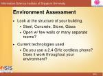 environment assessment