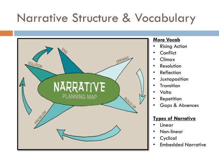Narrative Structure & Vocabulary