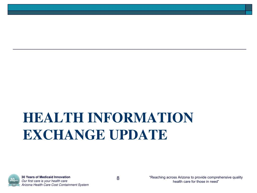 Ppt Hit Hie Update Ahcccs Ehr Incentive Program And