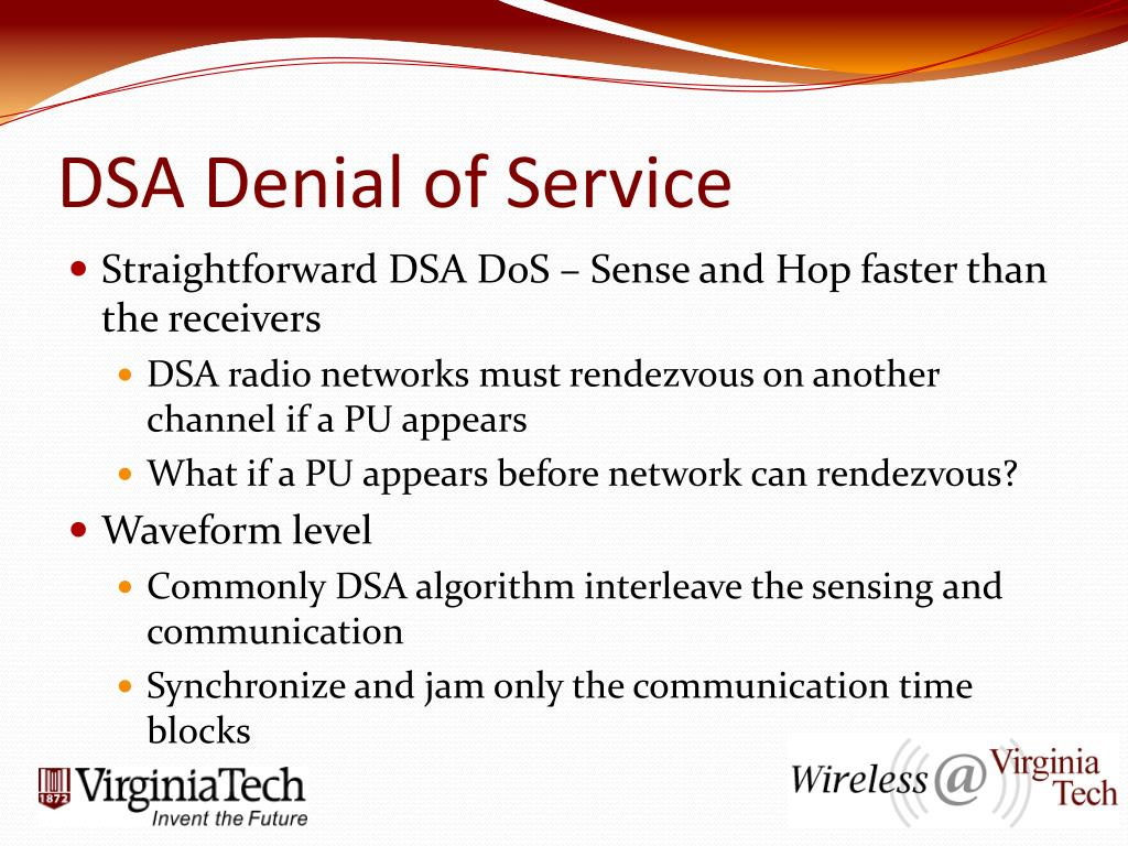 PPT - Dynamic Spectrum Access Security Issues PowerPoint