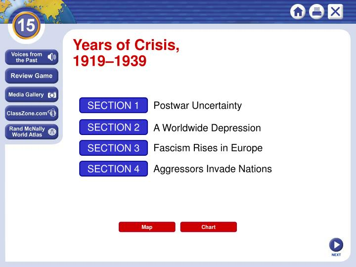 Years of Crisis,