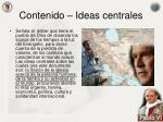 contenido ideas centrales