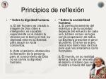 principios de reflexi n