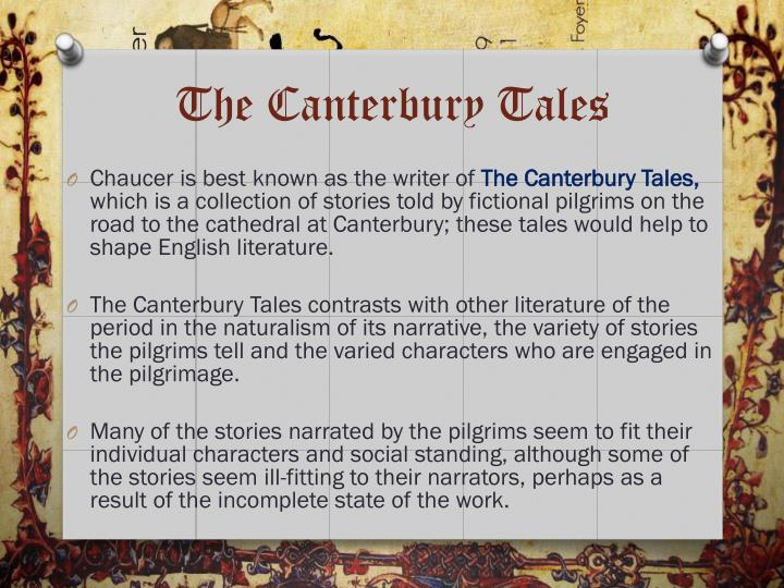 a comparison of geoffrey chauncers canterbury tales characters with present day people The canterbury tales study guide by sillyfly_chen includes 50 questions covering vocabulary, terms and more quizlet flashcards, activities and games help you improve your grades.