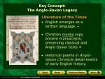 key concept the anglo saxon legacy3