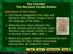 key concept the normans invade britain1