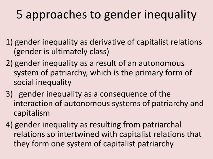 patriarchal system