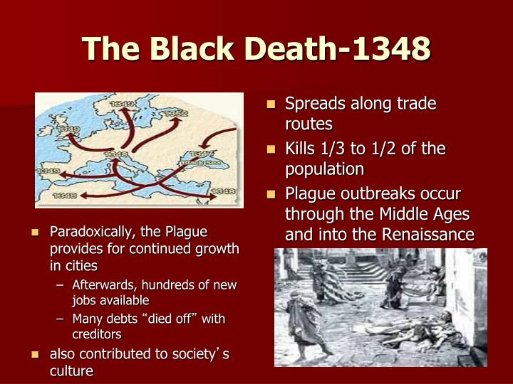The Black Death-1348