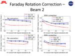 faraday rotation correction beam 2