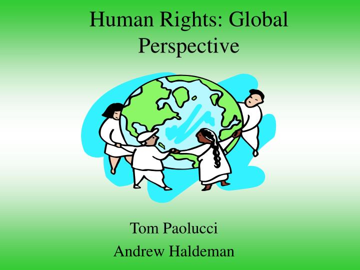 Human rights global perspective