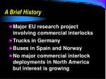 a brief history1