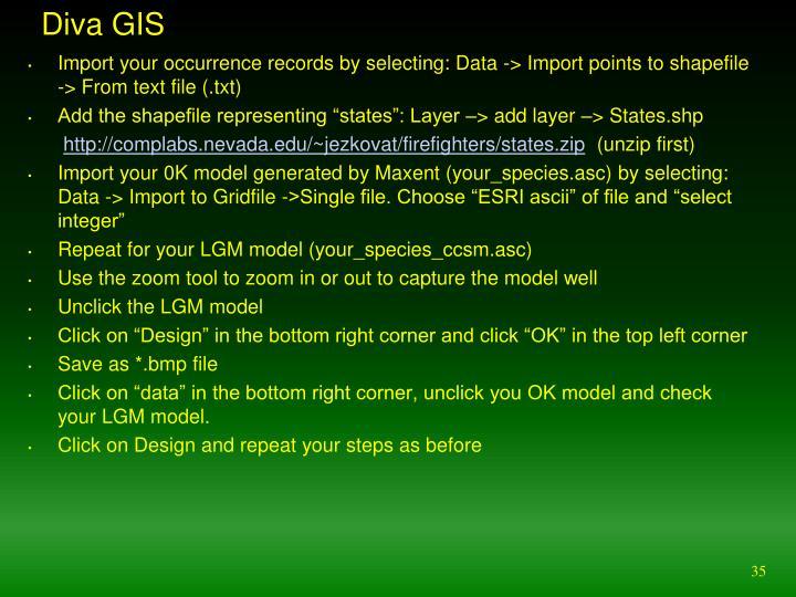 Diva GIS