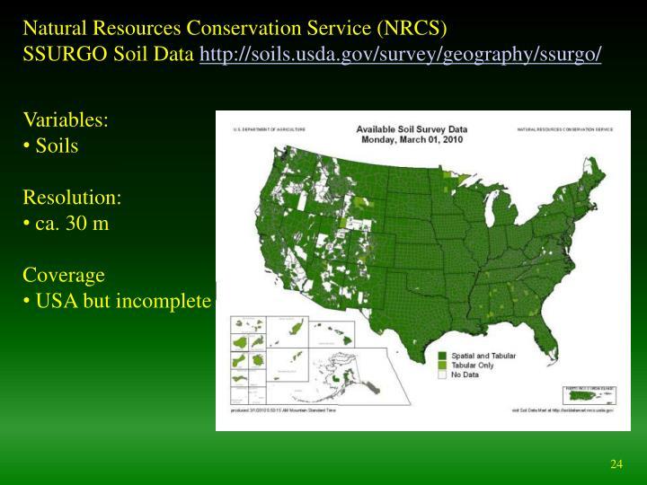Natural Resources Conservation Service (NRCS)