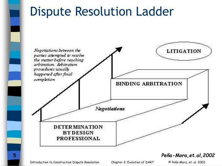Dispute Resolution Ladder