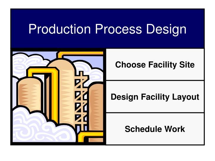 Choose Facility Site