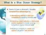 what is a blue ocean strategy