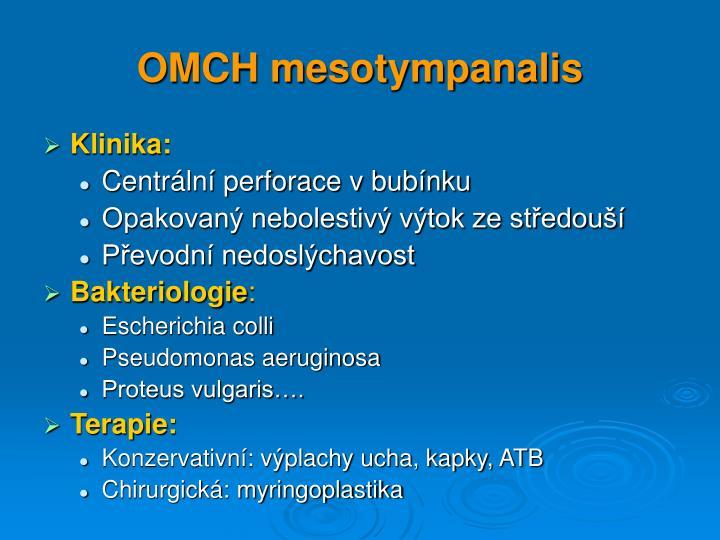 Omch mesotympanalis