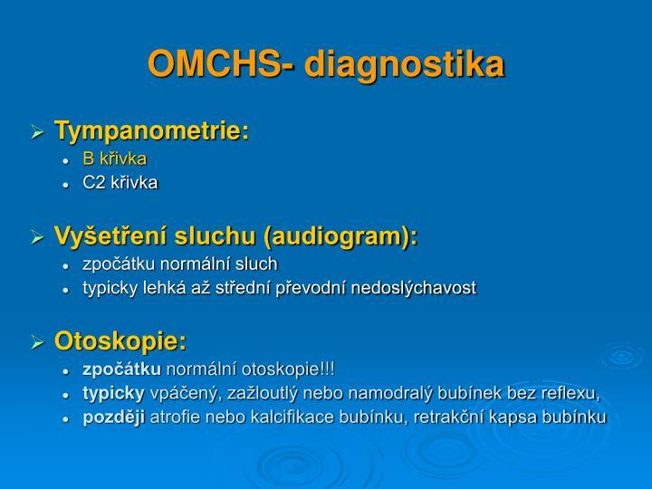 OMCHS- diagnostika