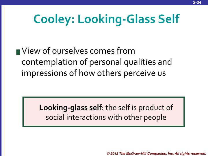Cooley: Looking-Glass Self