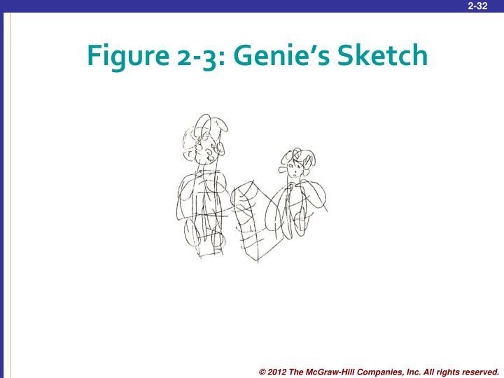 Figure 2-3: Genie's Sketch