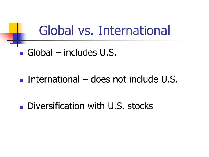 global vs international n.
