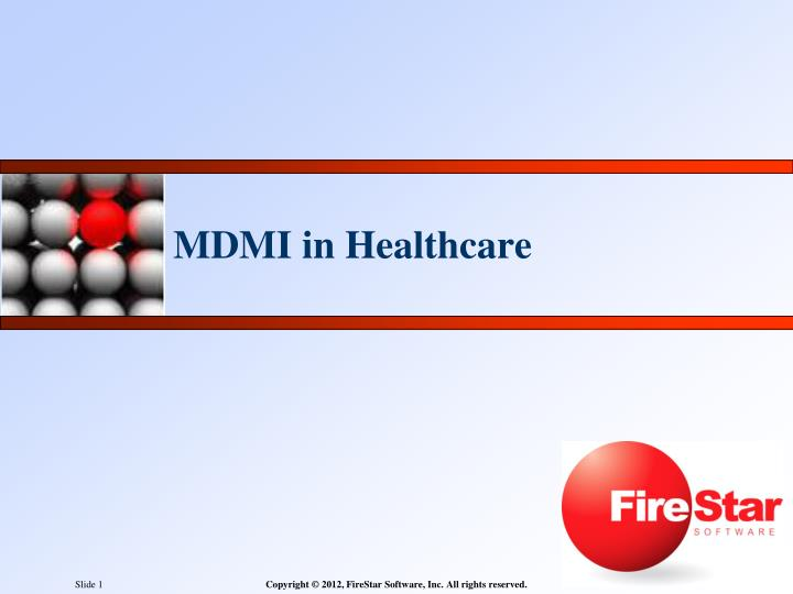 mdmi in healthcare n.