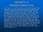 growth transformation