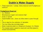 dublin s water supply