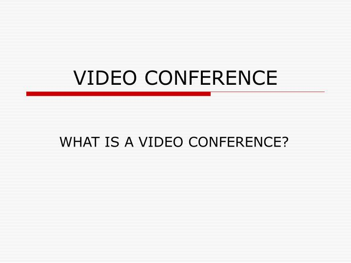 video conference n.