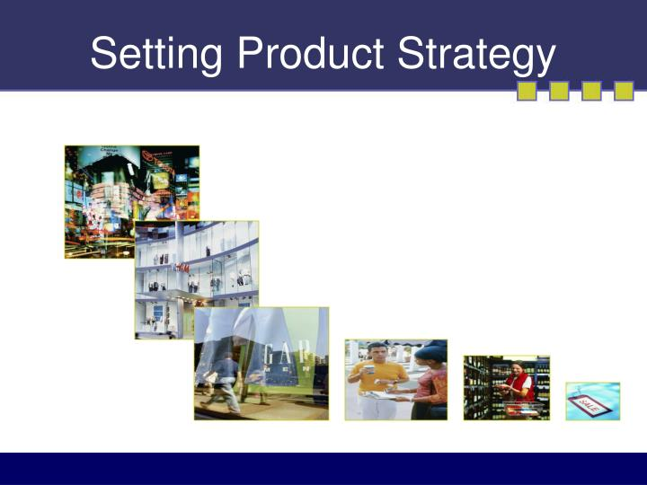 setting product strategy n.