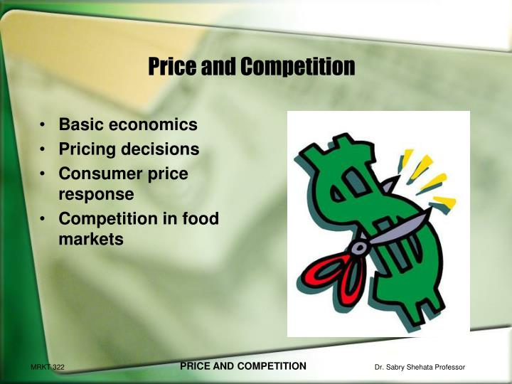 price and competition n.