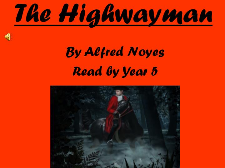 the highwayman n.
