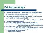 extubation strategy