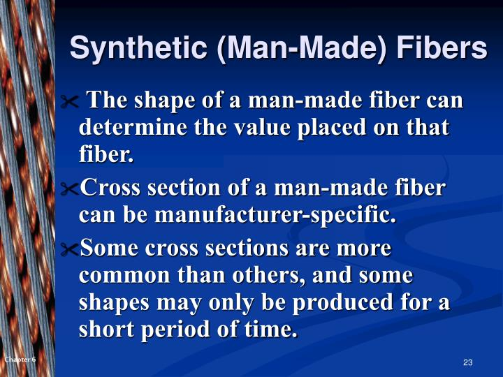 Synthetic (Man-Made) Fibers