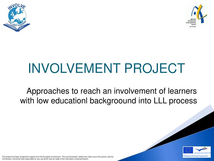 approaches to reach an involvement of learners with low educationl backgroound into lll process n.