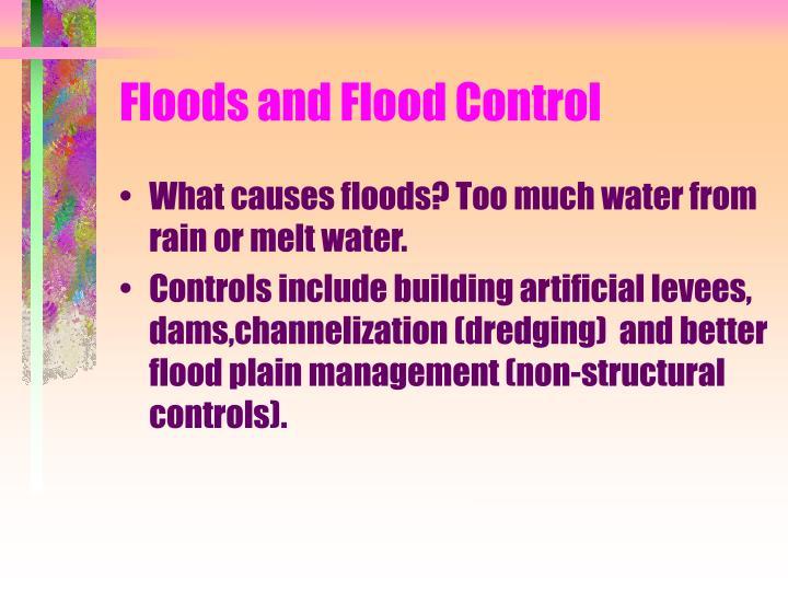 Floods and Flood Control
