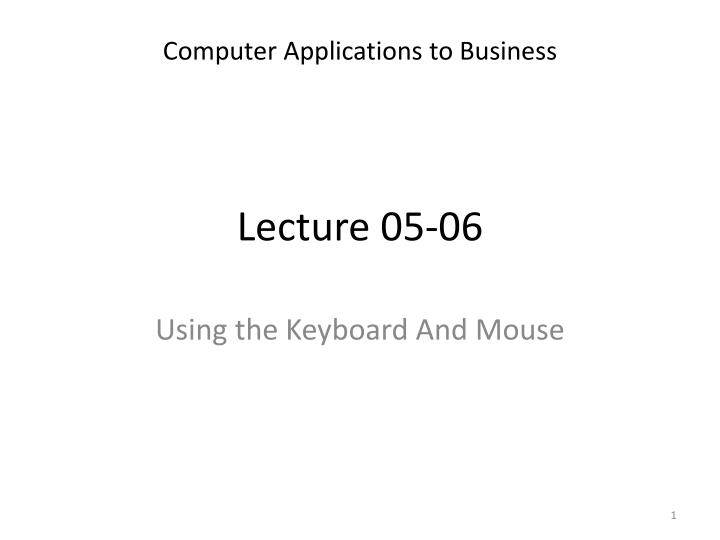 lecture 05 06 n.