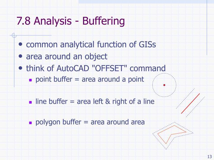 7.8 Analysis - Buffering