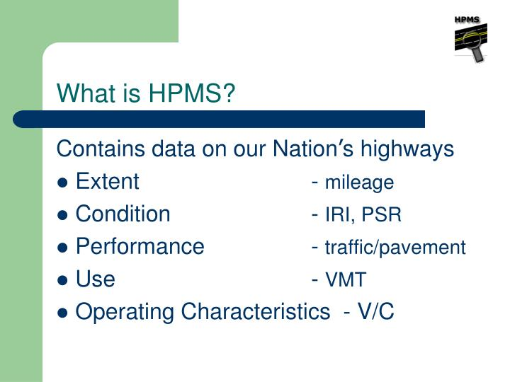 What is hpms1