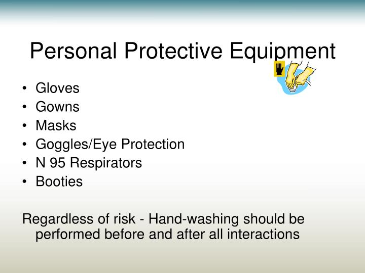 Personal Powerpoint - Presentation Protective Equipment Ppt Free