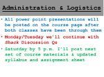 administration logistics1