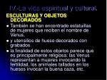 iv la vida espiritual y cultural2