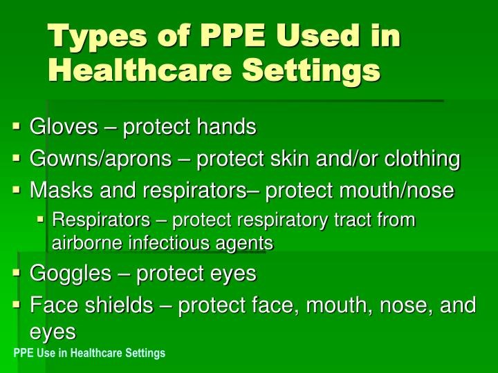 Ppt Standard Precautions And Ppe Powerpoint Presentation