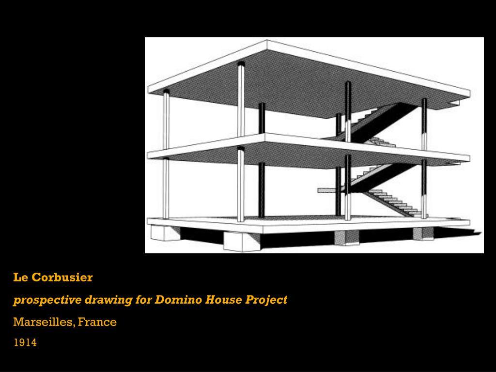 domino house le corbusier