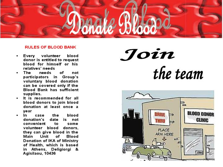 blood bank thesis Executive team david wellis, phd the life science industry and currently serves as the ceo of the san diego blood bank and as serving as graduate thesis.