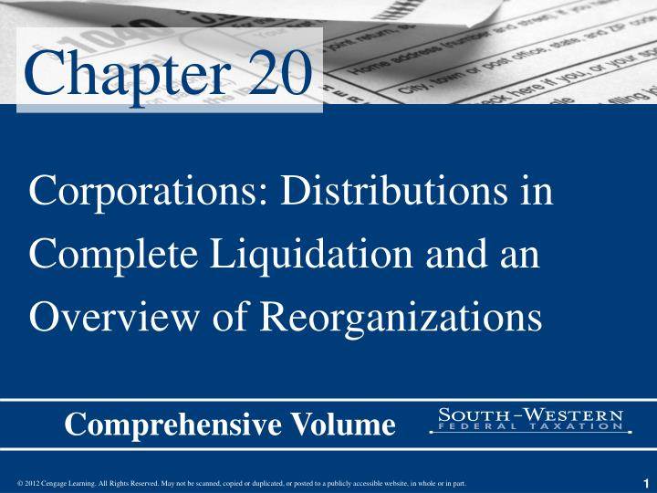 liquidation presentation This cle webinar will provide bankruptcy counsel with a review of the differences between a chapter 11 and a chapter 7 liquidation and between liquidating plan sales vs sect 363 sales the panel will discuss formulation and approval of liquidation plans, unique issues in chapter 11 liquidations.