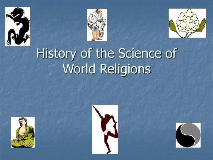 history of the science of world religions n.