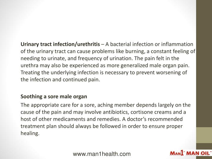 Urinary tract infection/urethritis